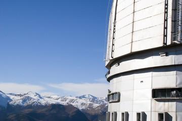Фрагмент оптического телескопа БТА САО РАН