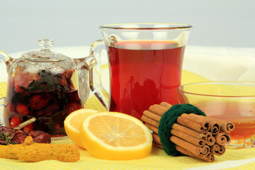 Blended Herb Tea For Winter-three