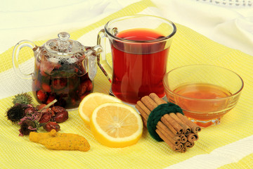Blended Herb Tea For Winter-four