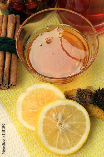 Honey and Lemon Slices