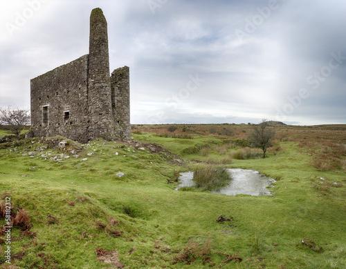 Ruined Cornish Engine House