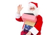 Good evening! I am Santa Claus bringing some gifts to you