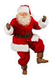 Happy Christmas Santa Claus Dancing