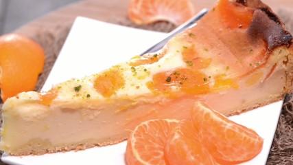 Rotating Cheese Cake (loopable)