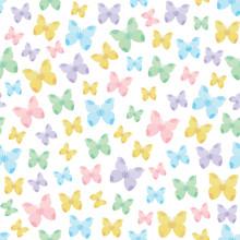 Nature thème seamless avec des papillons