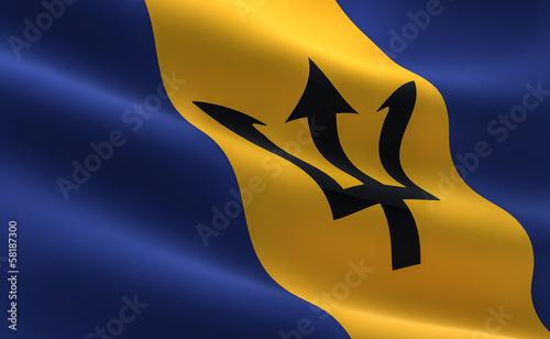 Barbadian flag