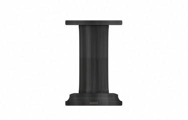 Steinsockel - dunkler Marmor - Säulenstandfuss