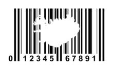 Islandia kod kreskowy