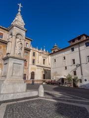 Roma, piazza di San Bartolomeo