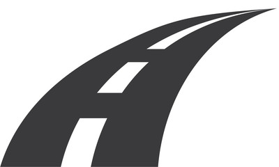 Concept route gris