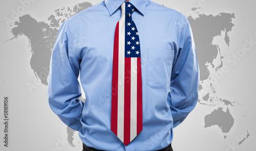 American necktie