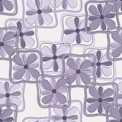 seamless lilac flowers