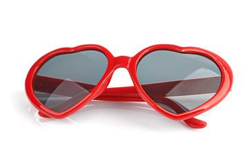 sunglasses like a heart