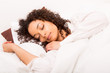 African woman slepping - 58191307