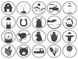 Farming Icons Vector Collection