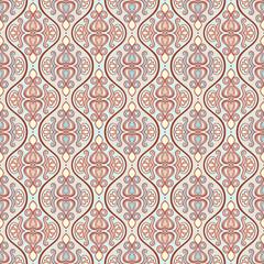 vertical vintage floral pattern