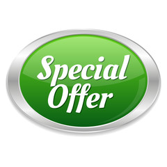 Big green special offer button