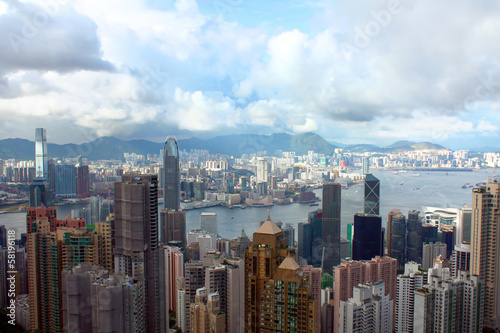 Hong Kong from Victoria Peak