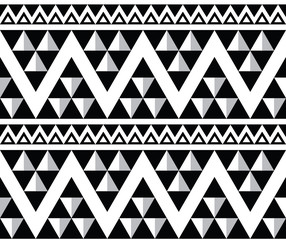 Tribal aztec abstract seamless pattern