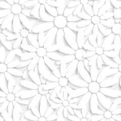 Seamless Flowers Pattern © Max Krasnov