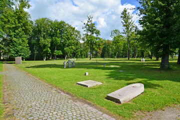 Kaliningrad. International memorial cemetery of victims of World