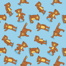 Toy bear pattern