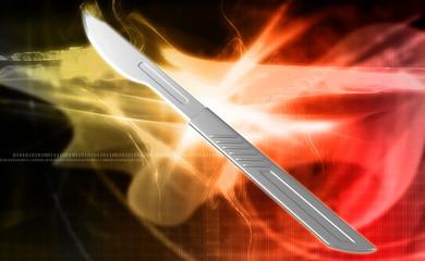 surgeon scalpel