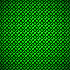 Green Background with Square Perforated Pattern