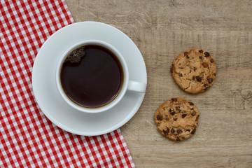 Tee und Kekse