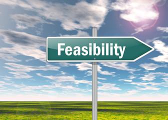 "Signpost ""Feasibility"""
