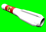 Nuclear Rocket Greenscreen