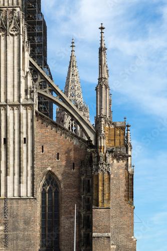 Ulmer Münster Detail der Fassade