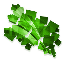 green creative abstract