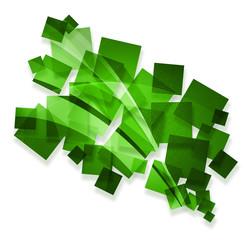 green creative abstract