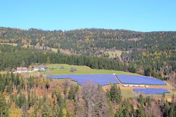 Großer Photovoltaikpark in der Steiermark