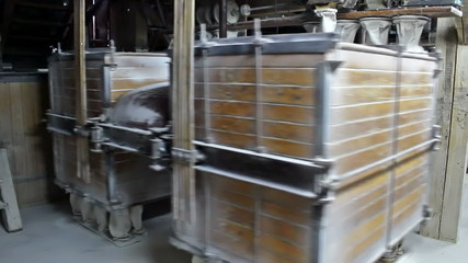 Manufacturing of wheat flour