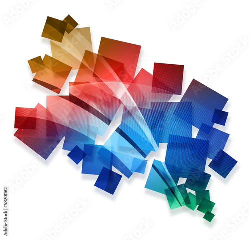 colourful creative abstract
