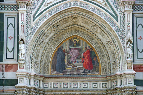 Detail of Cathedral  in Florence1