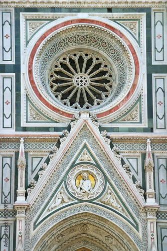 Detail of Cathedral  in Florence