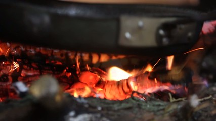 chestnuts on the fire