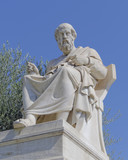 Plato the philosopher statue, Athens Greece