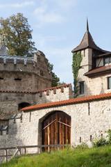 Detail von Schloss Lichtenstein