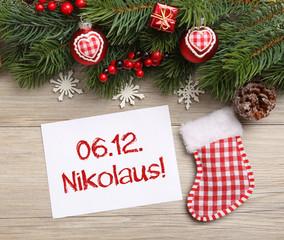 Termin Nikolaus