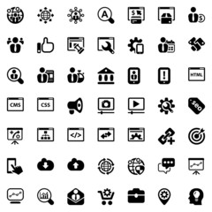 iconset seo black