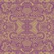 Hand drawn seamless pattern, seamless vector pattern