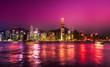 Leinwanddruck Bild - Hong Kong.