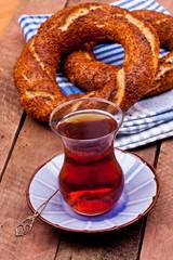 tea and turkish bagels