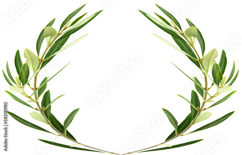 couronne d'olivier