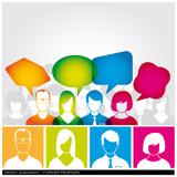Forum Peoples - vector 1