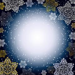 クリスマス 雪 結晶 キラキラ
